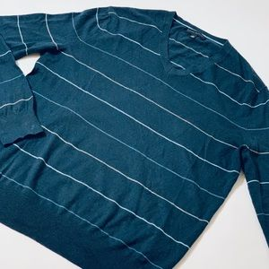 Banana Republic Silk Cotton Cashmere VNeck Sweater